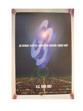 G3 Concert Poster G 3 Us Tour 1997 Joe Satriani Steve Vai Robert Fripp Shepherd