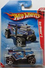 2010 Hot Wheels ~Desert~ Bad Mudder 2 2/4 (Blue Version)