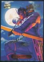 1994 Marvel Masterpieces Gold Signature Trading Card #49 Hawkeye