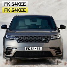 F*CK SAKE (FK 54KEE) FUNNY RUDE PRIVATE REG NUMBER PLATE BOSS TOY FAST LOSER F1