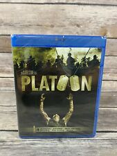 Platoon (Blu-Ray, 2011) Charlie Sheen Willem Dafoe Oliver Stone Vietnam War 1986