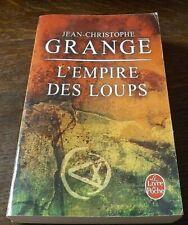 Jean Christophe Grange pour L'empire des loups
