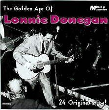 """LONNIE DONEGAN - """"THE GOLDEN AGE OF LONNIE DONEGAN"""" - MUSIC & MEMORIES IMPORT CD"""