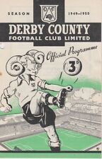 Derby County Football Reserve Fixture Programmes (Pre-1950)