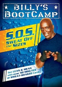 Billy Blanks Tae Bo SOS Bootcamp Sweat Off The Sizes DVD