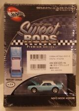 2002 Hot Wheels Sweet Rods Mercury Cougar JAPAN Exclusive Light Blue Real Riders