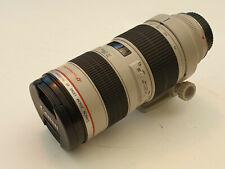 Canon EF 70-200mm F/2.8 L USM Lens Excellent Condition