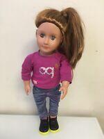 "18/"" Regular Doll Shailene VERY RARE DOLL BRAND NEW Our Generation"