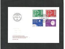 Schweiz,1964 Brief mit Ersttagsstempeln, Ganzsache, Katalogwert € 25 / G 11