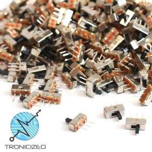 SPDT  3 Pin  (2 Position)  PCB  ~  Mini Slide Switch