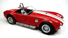 NEU: 1965 Ford Shelby Cobra 427 S/C Sammlermodell 1:32 rot Neuware v. KINSMART