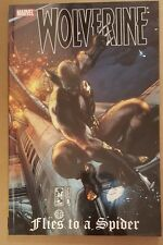 WOLVERINE FLIES TO A SPIDER NM/M TPB COMBINE SHIPPING LOW PRICE