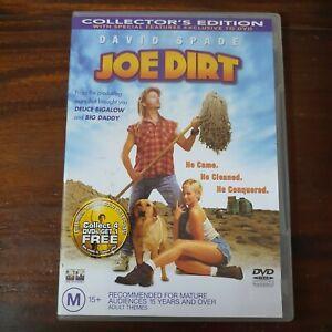 Joe Dirt DVD Region 4 Comedy David Spade Happy Madison Productions