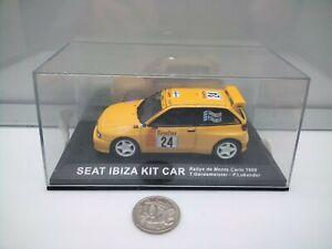 SEAT Ibiza Kit Car - 1999 Rallye de Monte Carlo - 1:43 Scale - Model Rally Car