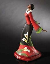 """African American Black Art Figurine """"I SURRENDER ALL"""" by Andre Thompson"""