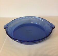 Pyrex 9.5 inch Cobalt Blue Pie Plate