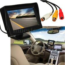 "4.3"" TFT LCD Car Reverse Rear View HD Monitor for Backup Night Vision Camera Cam"