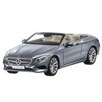 Mercedes-Benz Modellauto 1:43 PKW S-Klasse A217 Cabriolet grau B66960352