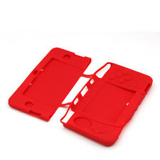 Red Soft Silicone Cover For Nintendo New 3DS XL LL Protective Case Skin Gel