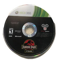 Jurassic Park - The Game - Xbox 360/One Disc Only Rare 1 Dinosaurs