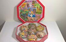 Vintage Disney Store Christmas Baubles / Ornaments Set