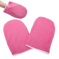 SPA Cotton Soft Mittens Heat Preservation Paraffin Wax Protection Hand Gloves UK