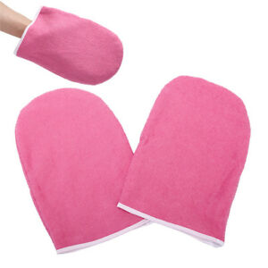 SPA Cotton Soft Mittens Heat Preservation Paraffin Wax Protection Hand GloveH I-