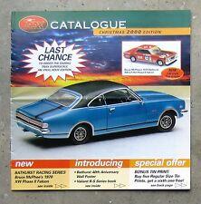 TRAX CATALOGUE 2000 diecast 1/43 model brochure HK MONARO GTS TORANA FALCON XW