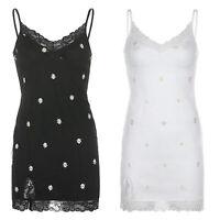 Women y2k Dress 90s Bodycon V Neck Mini Dress Lace Trim Side Split Club Dresses