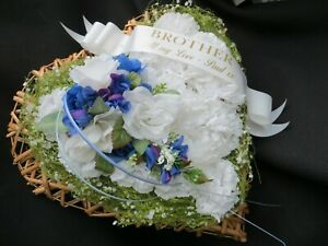 Funeral Flowers, tributes, Wreaths, sheathes, coffin top,sympathy, Personalised