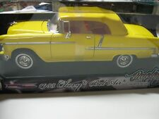 1:18 MOTORMAX TIMELESS CLASSICS 1955 Chevy Bel Air DieCast YELLOW
