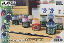 Citadel Shade Paint Set (60-23)  NEW