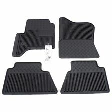 19302937 Vinyl Floor Mats 4 Pc Set Black New OEM GM 2014-16 Silverado Sierra