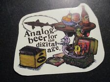 MARQ SPUSTA Dogfish Head Analog Beer Record Store Day STICKER Art from poster