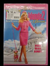 Legally Blonde 2: Red, White and Blonde (DVD, 2003, BRAND NEW FACTORY SEALED