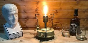 Monitor 1940's Camping Stove - Table / Desk Lamp, Vintage, Steampunk, Camping