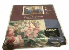 Sure Fit Casual Slipcover Full Back Furniture Cover Chair Size 100 X 90 New