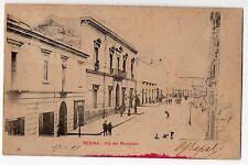CARTOLINA 1903 RESINA VIA DEL MUNICIPIO RIF. 9609