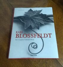 Karl Blossfeldt: The Complete Published Work 2008 Hardcover Hans Christian Adam