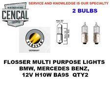 FLOSSER MULTI PURPOSE LIGHTS BMW MERCEDES BENZ 12V H10W BA9S  QTY2  4010