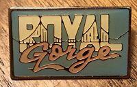 Vintage Royal Gorge Bridge Colorado Travel Souvenir Lapel Hat Pin Pinback ~ CO
