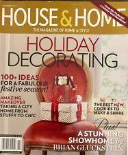 HOUSE & HOME,  NOVEMBER 2013 VOL.35 NO.11*