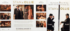 STAN & OLLIE FILM FLYER  - STEVE COOGAN JOHN C REILLY - LAUREL AND HARDY