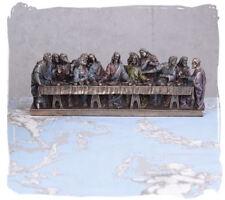 Jesus Christentum Skulptur das Abendmahl Apostel Hausaltar Leonardo