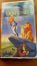 Walt Disney Masterpiece Collection Lion King VHS 2977 Purchased New