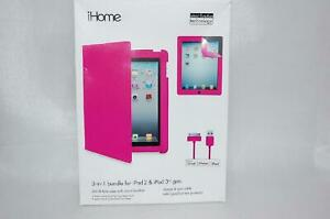 iHome Pink Neon Bundle for iPad 2/3  IH-IP1107PBD (NEW) - 800108757