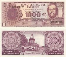 Paraguay 1000 Guarnies (2002) - Central Bank 50th Anniversary Note/p221 UNC