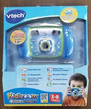 VTECH KIDIZOOM CAMERA CONNECT 80-140700 - BLUE - NEW SEALED