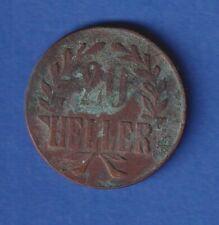 Deutsch-Ostafrika 1916 Kursmünze 20 Heller - Kupfer, Prägestätte T