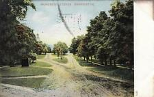 Antique POSTCARD c1907 Monument Avenue BENNINGTON, VT VERMONT 18915